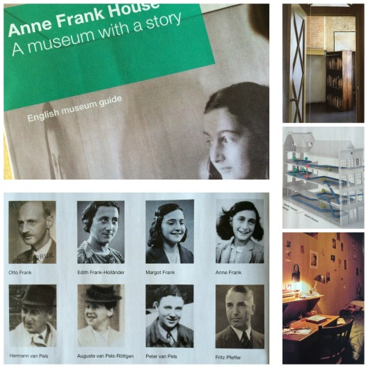 Anne Frank Collage
