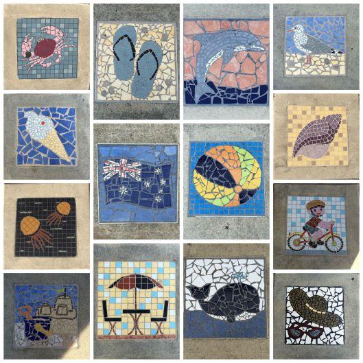 pavement collage