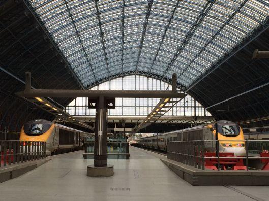 St Pancras Eurostar Station