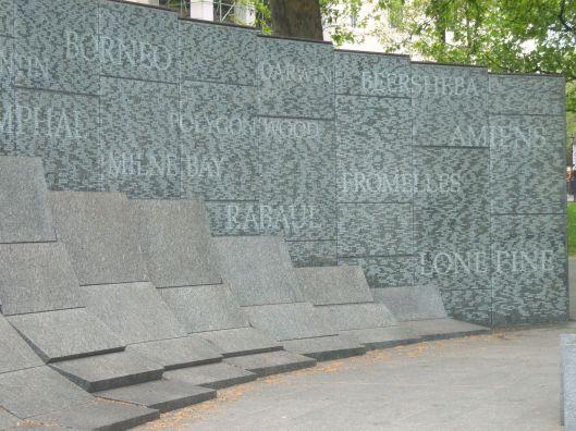 Australian Memorial at Hyde Park Corner