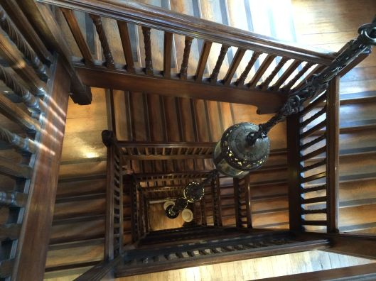 stairwell at Liberty's