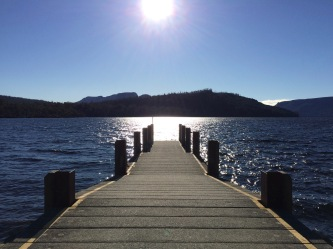H lake