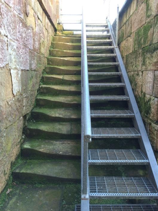 PA steps