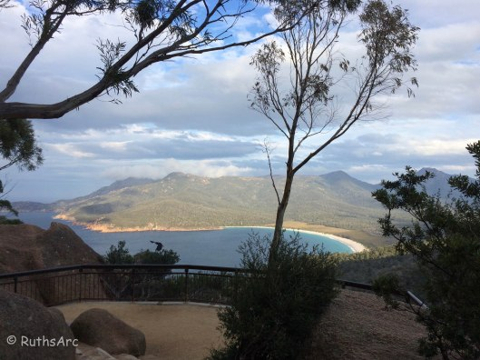 V Wineglass Bay