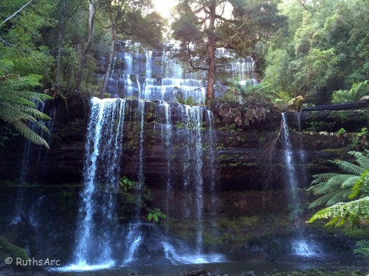 W Russell Falls 1